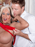 50 Plus MILFs - Sally rides again - Sally D'Angelo (50 Photos)
