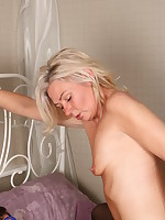 British hairy housewife getting naughty with her lover